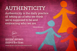 AUTHENTICITY 