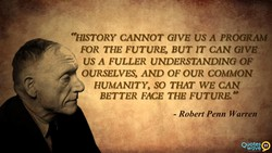 «HISTORY CANNOT GIVE US PROGRAM 