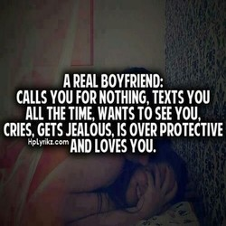 A REAL BOYFRIEND: 
