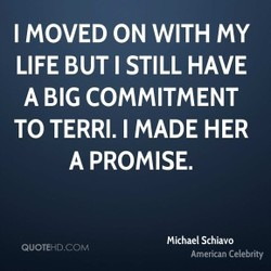 I MOVED ON WITH MY 
