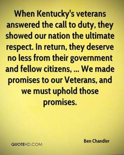 When Kentucky's veterans 