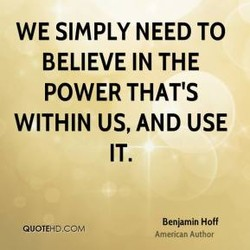 WE SIMPLY NEED TO 