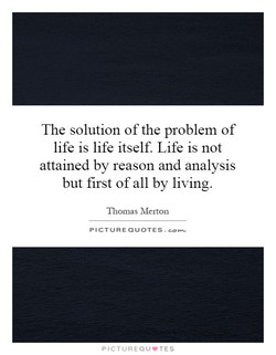 The solution of the problem of 