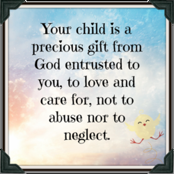 Your child is a 
