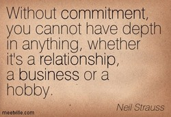 Without commitment, 