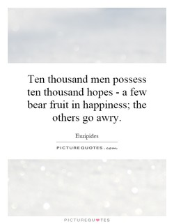 Ten thousand men possess 