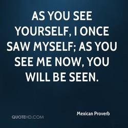 AS YOU SEE 