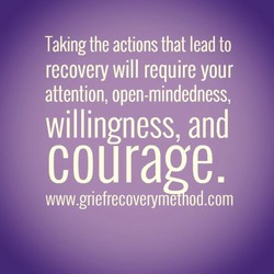 Taking the actions that lead to 