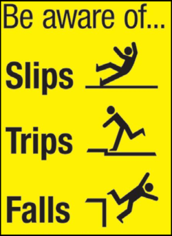 Be aware of... 