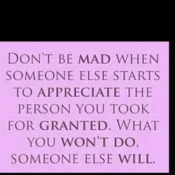DONtT BE MAD WHEN 