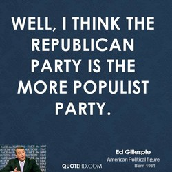WELL, I THINK THE 