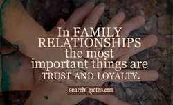 In FAMILY 