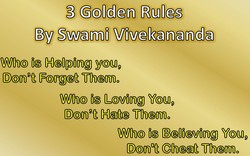 3 Golden Rules 