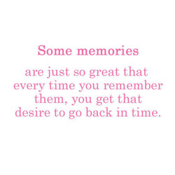 Some memories 