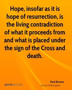 Hope, insofar as it is 
