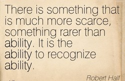 There is something that 