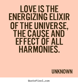 LOVE IS THE 