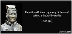 Know thy self, know thy enemy. A thousand 