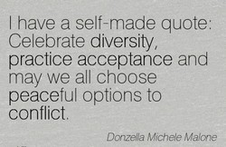 I have a self-made quote. 
