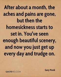 After about a month, the 
