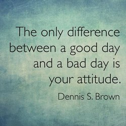 The only difference 