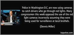 Police in Washington D.C. are now using cameras 