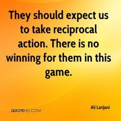 They should expect us 