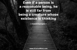 Even if a person is 
