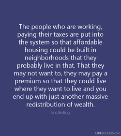 The people who are working, 