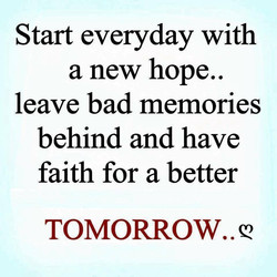 Start everyday with 