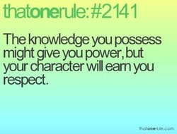 thatonerule: #2141 