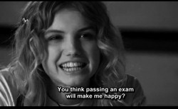 You think passing an exam 