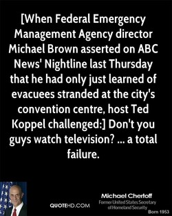 IWhen Federal Emergency 