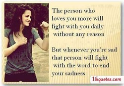 The person who 