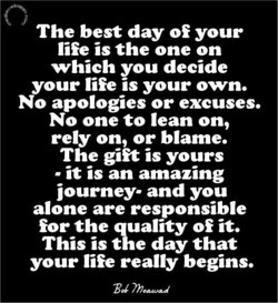 The best day of your 