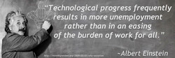 chnological progress frequently 