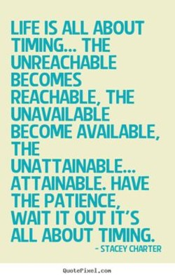 LIFE IS ALL ABOUT 