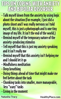 TIPS COPING WITH ANXIETY 