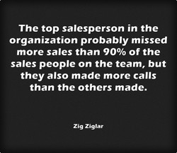 The top salesperson in the 