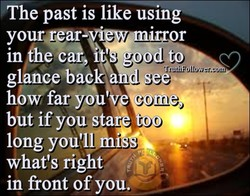 The past is like using 