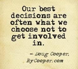Our best 