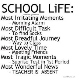 SCHOOL LiFE: 