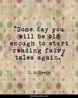 'Some day you 