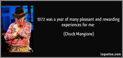 1972 was a year of many pleasant and rewarding 