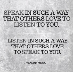 SPEAK m SUCH AWAY 
