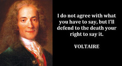 I do not agree with what 