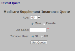 Instant Quote 