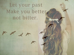 Let your past 