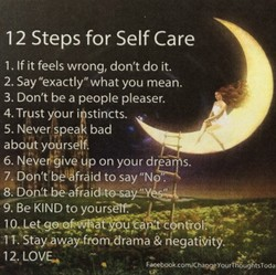 1 2 Steps for Self Care 