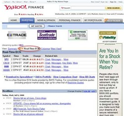 YAHOO!. FINANCE 